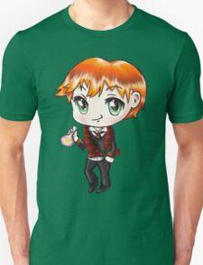Cute Ron Weasley in a Gryffindor Uniform Holding a Potion (Hand-Drawn Illustration) Unisex T-Shirt