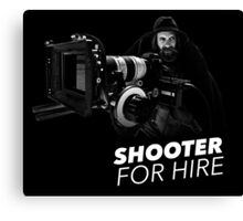 Shooter For Hire Canvas Print