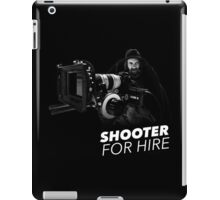 Shooter For Hire iPad Case/Skin