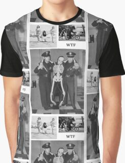 WTF - Threesome penguin bear and cops Graphic T-Shirt