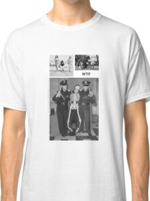 WTF - Threesome penguin bear and cops Classic T-Shirt