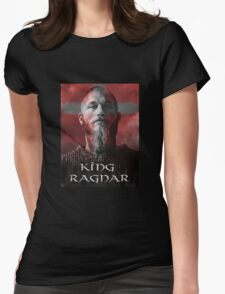 king ragnar Womens Fitted T-Shirt