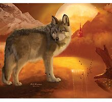 Wolf Mountain Photographic Print