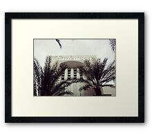 The Surfcomber (Miami) Framed Print