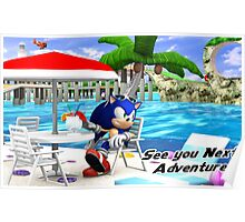 Sonic Adventure - See ya! Poster