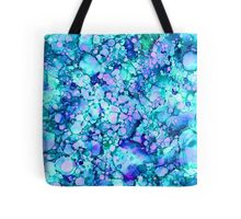 Abstract Blue Lagoon Tote Bag
