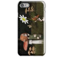 Goblin Valentine's Day in the Forest iPhone Case/Skin
