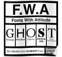 F.W.A Poster
