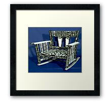 Big Brothers Chair Framed Print