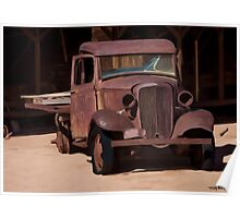 Rust Hot Rod Truck #4 Poster