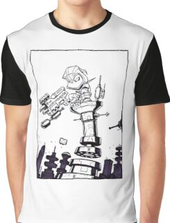 From Above® comic Graphic T-Shirt
