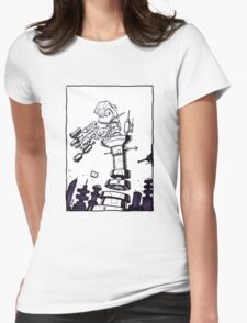 From Above® comic Womens Fitted T-Shirt