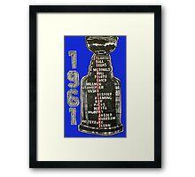 Chicago Blackhawks - 1961 Framed Print