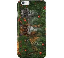Tiger's In The Poppies  iPhone Case/Skin