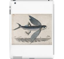 Flying Fish, a Lithograph by Richard Bridgens, c 1840 iPad Case/Skin