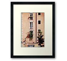 Orange in El Born (Barcelona) Framed Print