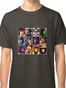 Mortal Kombat 2 Character Select Classic T-Shirt