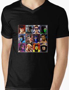 Mortal Kombat 2 Character Select Mens V-Neck T-Shirt