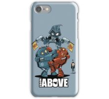 From Above Comic iPhone Case/Skin