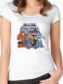 GoBots - Cast -  Logo Women's Fitted Scoop T-Shirt