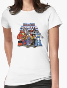 GoBots - Cast -  Logo Womens Fitted T-Shirt
