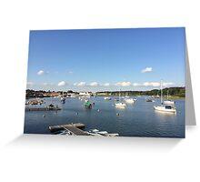 River Deben - Woodbridge Greeting Card