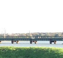 Manningtree River Bridge Sticker