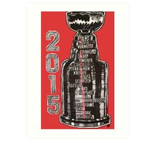 Chicago Blackhawks - 2015 Art Print