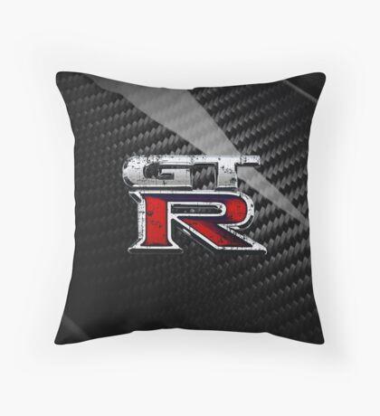 GTR new logo Throw Pillow