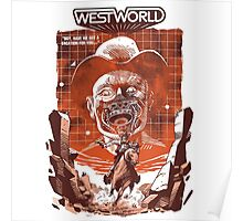 classic westworld  Poster