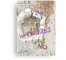 Who Cares - Anne Winkler Metal Print