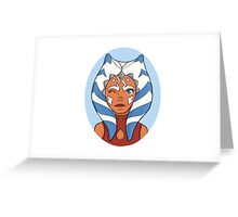 Ahsoka Tano Greeting Card