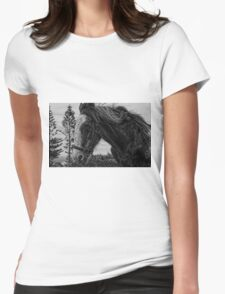 Norfolk Island Draught Horse Womens Fitted T-Shirt