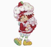 Strawberry Shortcake & Custard One Piece - Short Sleeve