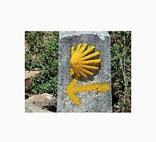 El Camino shell & arrow marker, Spain Unisex T-Shirt