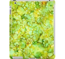 Green Abstract iPad Case/Skin