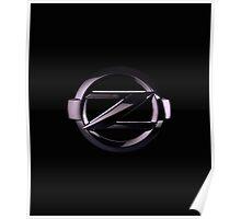 Nissan Z blk Poster