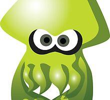 Green Squid Kid by aestheticmemes
