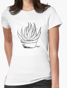 Aloe love (Marlothii) Womens Fitted T-Shirt