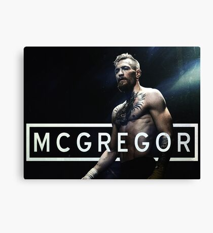 The Notorious Conor McGregor Canvas Print