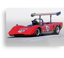 1969 Lola T163 Vintage Can Am Racecar Metal Print