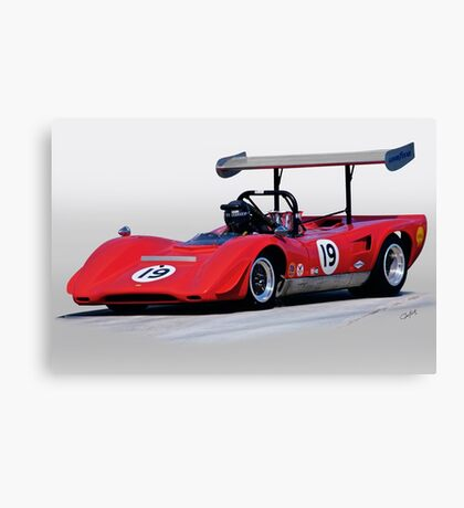 1969 Lola T163 Vintage Can Am Racecar Canvas Print