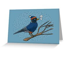 Annoyed IL Birds: The Robin Greeting Card