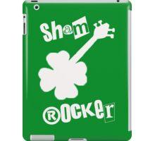 White Sham rocker iPad Case/Skin