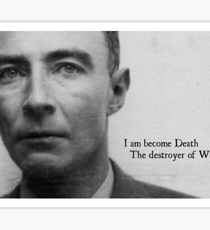 Oppenheimer Atomic Bomb Sticker
