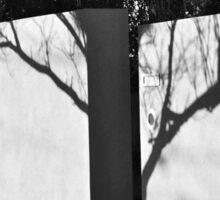 shadow tree Sticker