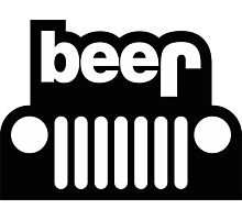 Jeep beer Photographic Print