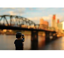 Portland Oregon Bridgetown Photographic Print