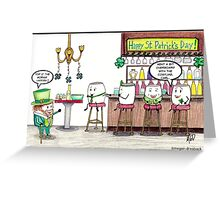 Mallow St. Patty's Day Greeting Card
