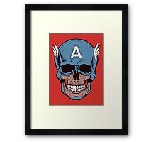Captain Amerikilled Framed Print